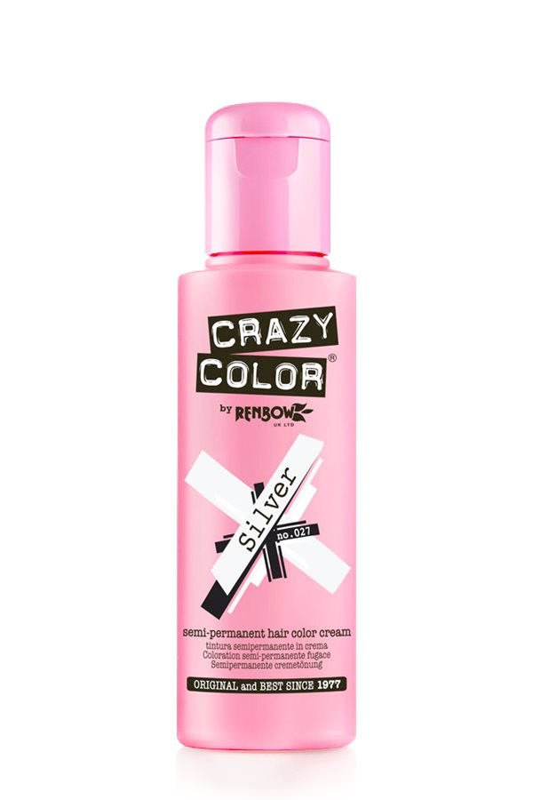 SEMI-PERMANENT HAIR DYE CRAZY COLOR 100ML